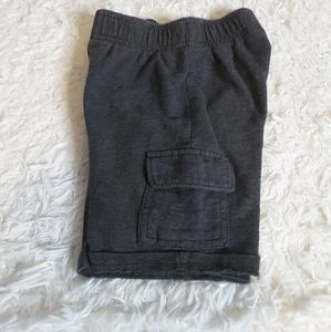3/$15 Jumping Beans grey cargo shorts size 4T